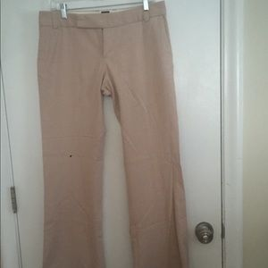Light pink gap stretch dress pants